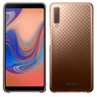 Original Samsung Ultra-thin and light Gradation Cover gold für Samsung Galaxy A7 2018