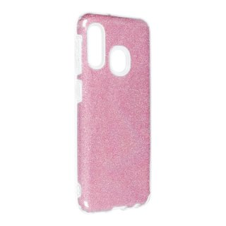 Forcell Shining Case Rose für Samsung Galaxy A20e