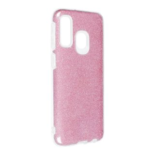 Forcell Shining Case Rose für Samsung Galaxy A40