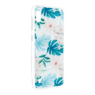 Forcell Marble Case white für Apple iPhone XS/X