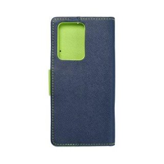 Fancy Book Case Navy Lime für Samsung Galaxy S20 Ultra
