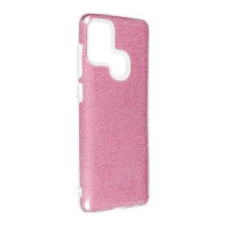 Forcell Shining Case Rose für Samsung Galaxy A21s