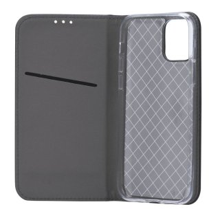 Smart Case Book Black für Samsung Galaxy J6 2018